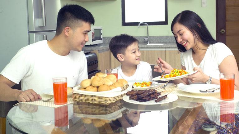 Lifestyle Photo Athena House Model Dining Area