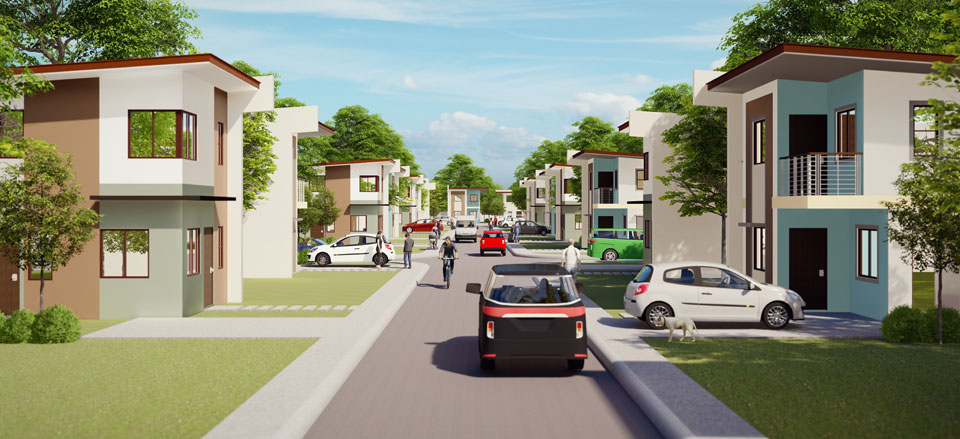 Street View of Manors at Golden Horizon